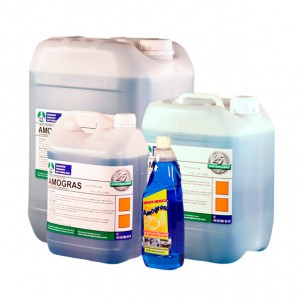 AMOGRAS, Detergente amoniacal alto rendimiento