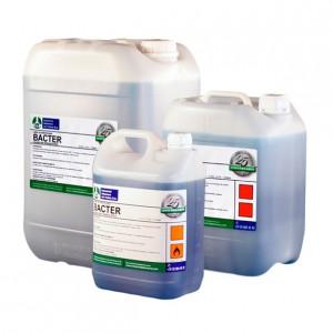 BACTER, Producto bactereostático para wc aroma limón