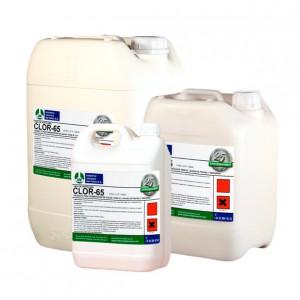 CLOR-65, Producto desinfectante de agua para lavado de frutas y verduras