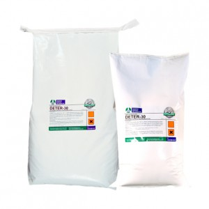 DETER-30, Detergente en polvo con oxigeno activo
