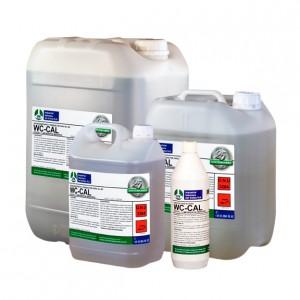 WC CAL, Desincrustante gel para cerámica sanitaria