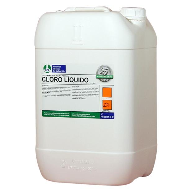 Comprar cloro l quido concentrado para piscinas 25kg - Cantidad de salfuman para bajar ph piscina ...