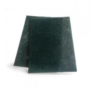 ESTROPAJO DE FIBRA PACK, Estropajo de fibra verde. Pack de 2 unidades