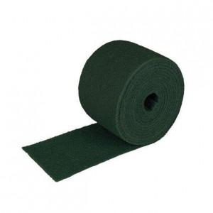ESTROPAJO DE FIBRA ROLLO, Estropajo de fibra verde. Rollo de 6 metros