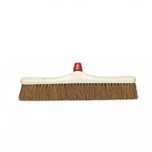 COCO, Cepillo de fibra vegetal semidura para barrido interior o exterior de suelos lisos de cemento, piedra, etc. Disponible en varios tamaños
