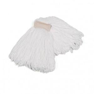 MOCHO MICROFIBRA INDUSTRIAL, Absorbe el doble que un mocho de algodón y seca el suelo con gran rapidez. Resistente y de larga duración. Disponible en tamaños de 200 y 250 gr.