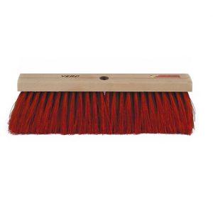 PVC, Cepillo de pvc (41 cm) para barrido interior o exterior de suelos lisos de cemento, piedra, etc.