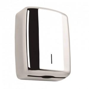 DISPENSADOR TOALLAS INOX ELEGANCE, Dispensador de toallas. Capacidad para 600 hojas. Disponible en acabado brillo y satinado