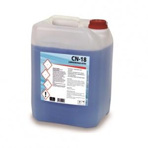 CN-18 LIMPIACRISTALES EXTRA, Limpiador de alto rendimiento para cristales. Seca muy rápidamente sin dejar trazas