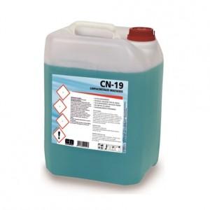CN-19 LIMPIACRISTALES MULTIUSOS, Limpiador para cristales y todo tipo de superficies no porosas. Seca muy rápido sin dejar trazas