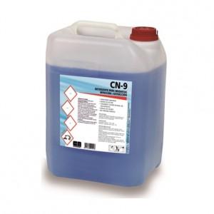 CN-9 LIMPIADOR INYECCIÓN-EXTRACCIÓN, Detergente para la limpieza de superficies textiles con máquina de inyección/extracción