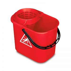 CUBO MASTERLUX 2050, Cubo de fregado de 16 litros con escurridor. Plástico de gran resistencia