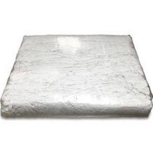 TRAPO SÁBANA BLANCO CORTADO, Trapo sábana blanco cortado 100% algodón. 5 Kg