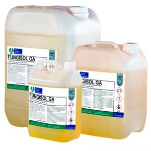 FUNGISOL GA, Detergente higienizante base glutaraldehído