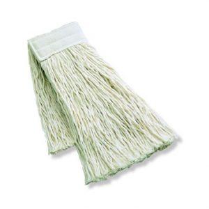 FREGONA INDUSTRIAL ALGODON CRUDO, Mocho de algodón extra para fregado con sistema profesional de pinza. Disponible en 300, 350, 400 y 450 gr.