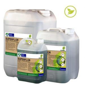 SUPERFLOR, Detergente perfumado con bio-alcohol ecológico ECOITEL
