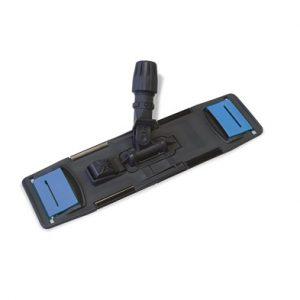 BASTIDOR OLIMPIC/ONE, Bastidor de plástico muy resistente. Portamango con toma universal. Para mopas Micronet o Micromop Petaca. Tamaño: 40x11