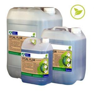D'CAL FLOR, Gel antical para la higiene general del lavabo ecológico ECOITEL