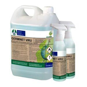 GERMINET VIRU, Desinfectante virucida manos, superficies y textiles