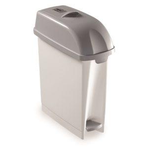 CONTENEDOR HIGIÉNICO DESY, Contenedor para compresas para uso en los aseos de señoras. Capacidad 17 litros